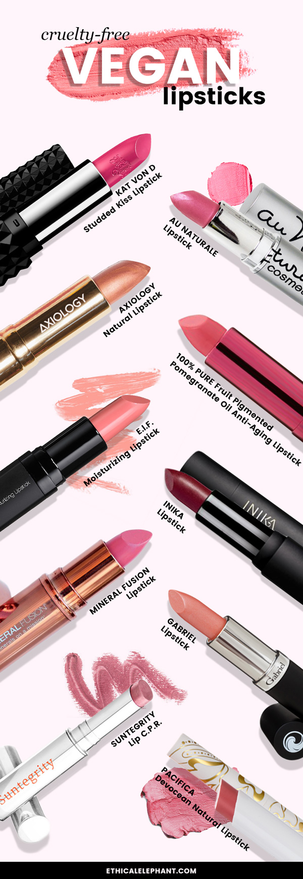 The Best Cruelty-Free and Vegan Lipsticks