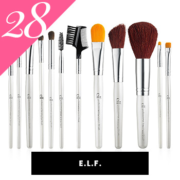 ELF cosmetics Vegan Makeup Brushes