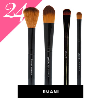Emani Vegan Makeup Brushes