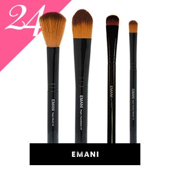 Emani Vegan Makeup Brushes