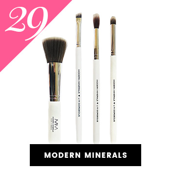 Modern Minerals Vegan Makeup Brushes