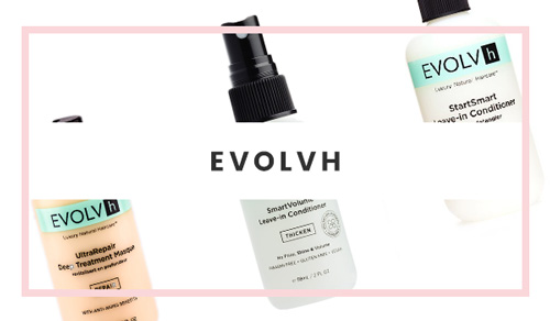 EVOLVh (100% Vegan) Hair Product Brand