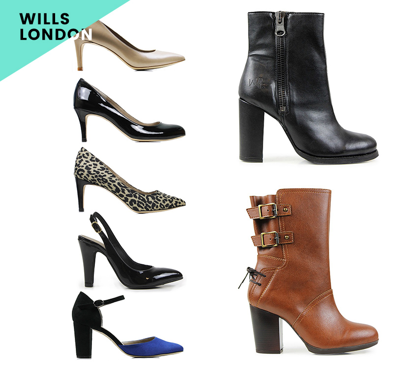 Wills London Vegan Heels