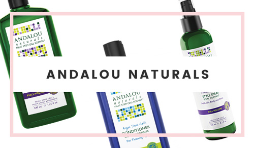 Andalou Naturals (100% Vegetarian) Hair Products