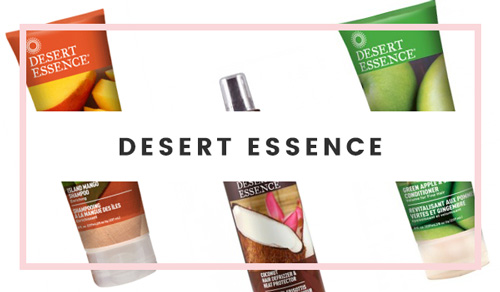 Desert Essence Hair Product Brand