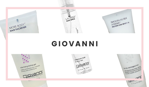 Giovanni (100% Vegetarian) Hair Product Brand
