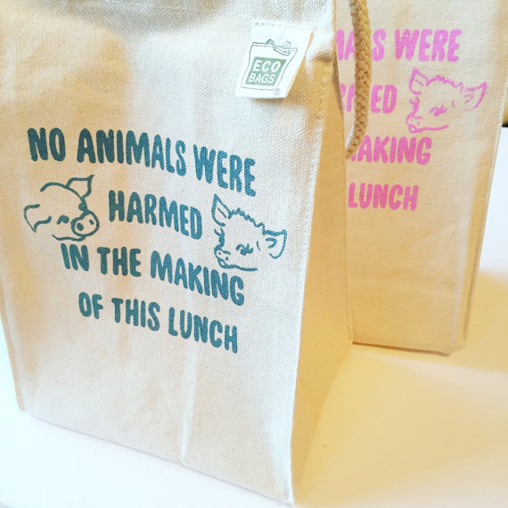 Vegan Lunch Bag // Vegan Police