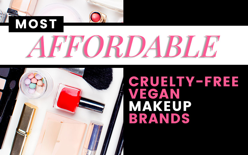 List of 9 affordable vegan-friendly makeup brands!
