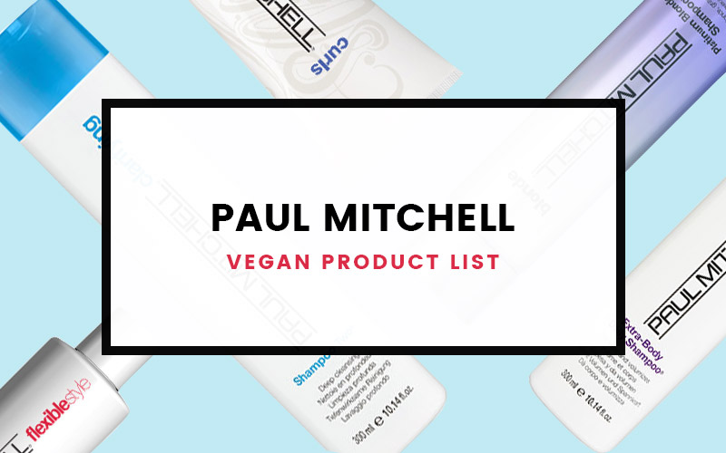 Paul Mitchell Vegan Product List