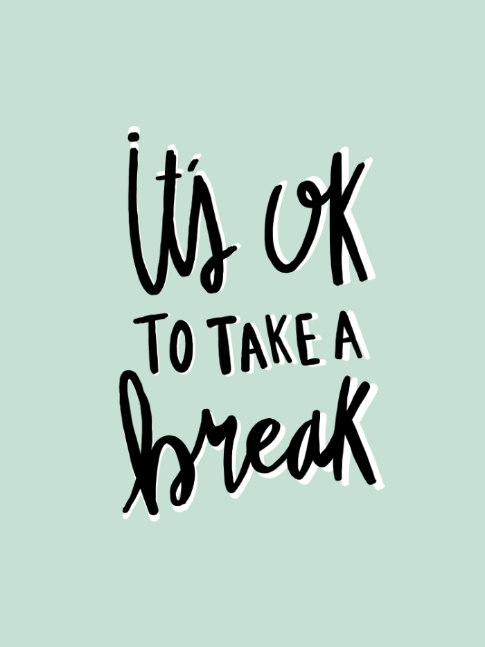 its-ok-to-take-a-break-hand-lettered-typography-blue-umk-prints