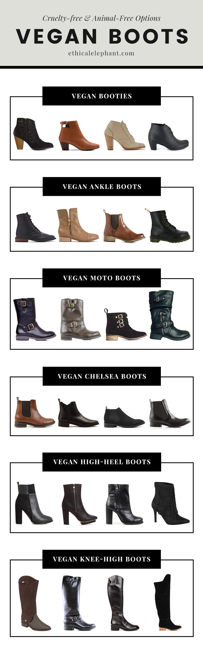 Ultimate Guide to Vegan Boots
