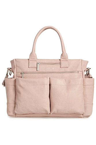 'EVERYTHING' FAUX LEATHER DIAPER BAG