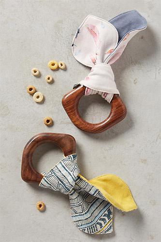 Pattern-Pop Teething Ring