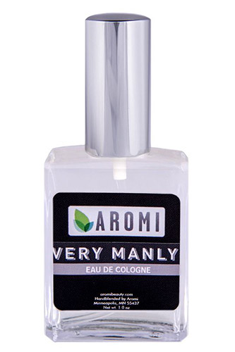 Vegan Very Manly Cologne by Aromi Beauty