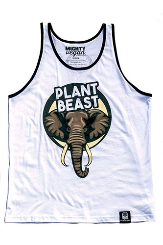 Plant Beast Top by Mighty Vegan