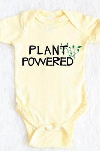 Plant Powered Baby Shirt