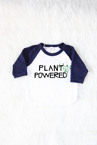 a3abc1189 ... Plant Powered {Vegan} Baby Shirt ...