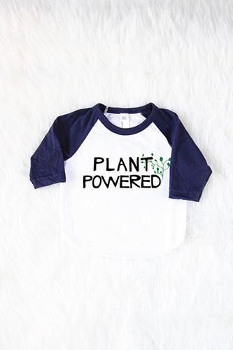Plant Powered {Vegan} Baby Shirt