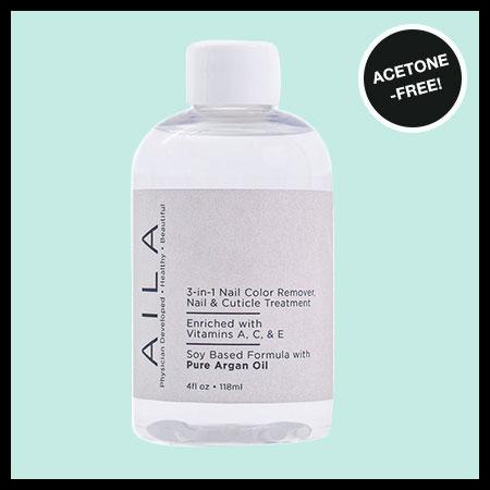 AILA 3-in-1 Vegan Nail Color Remover