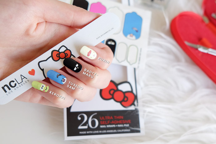 Ncla Hello Kitty Nail Wraps Cruelty Free Vegan