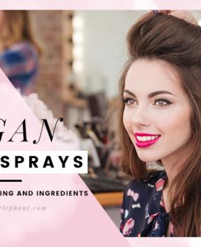 Cruelty-Free & Vegan Hairsprays