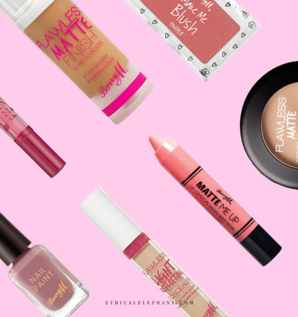 Barry M Vegan Product List (2017)