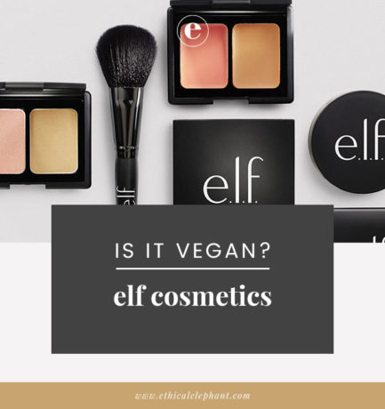 Is ELF a vegan brand? (UPDATED 2019)