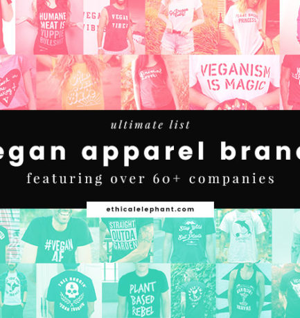 Ultimate List of Vegan Apparel Brands