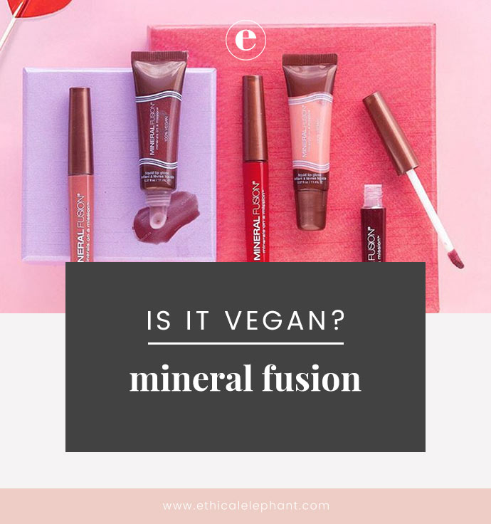 Mineral Fusion Vegan Product List (2019)