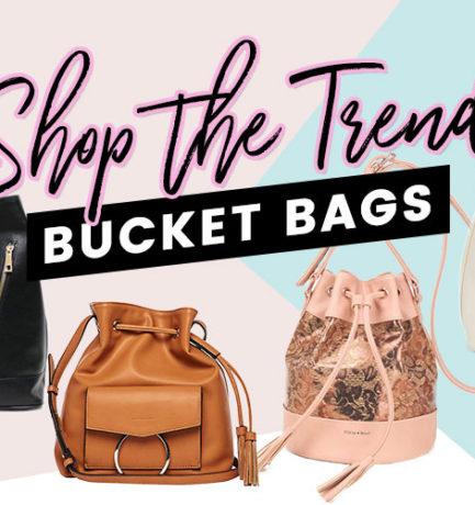 Shop the Trend: Bucket Bags! (Cruelty-free & Vegan)
