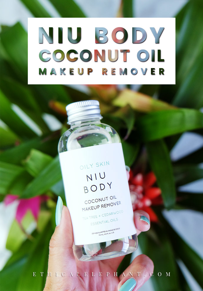 NIU BODY Vegan Coconut Oil Makeup Remover Review