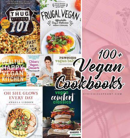 100+ Vegan Cookbooks