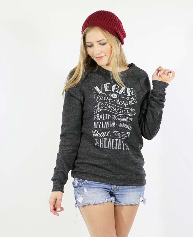 """Vegan is..."" - Vegan Sweater"