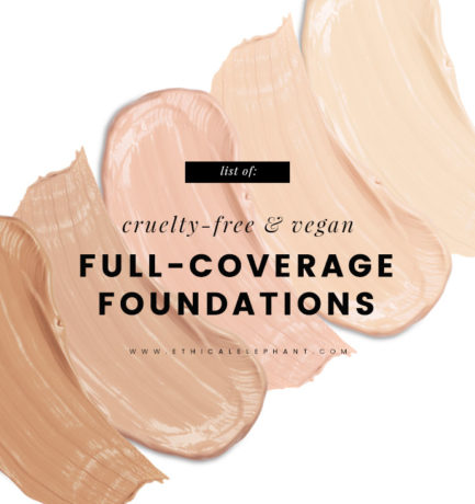 Full Coverage Cruelty-Free & Vegan Foundation