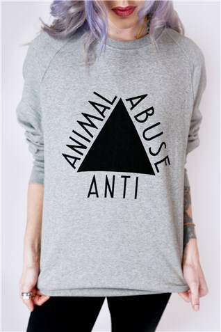 Anti Animal Abuse Vegan Sweater