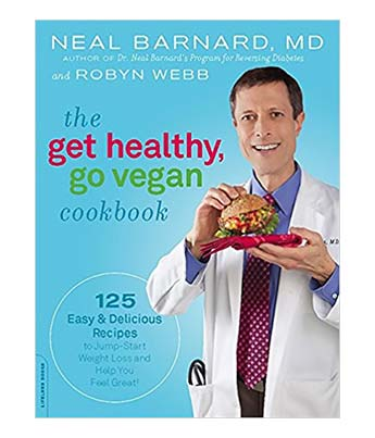 Get Healthy Go Vegan Cookbook