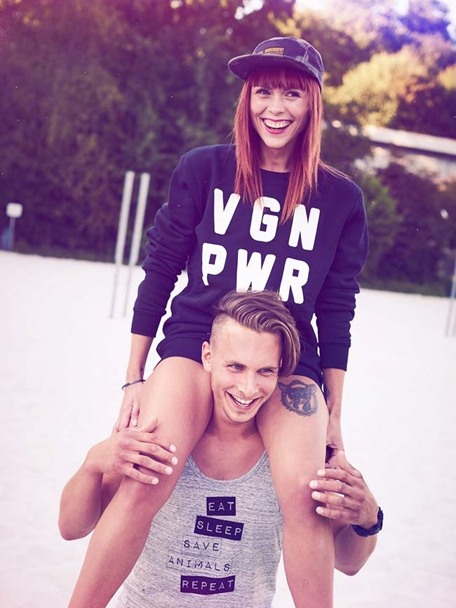VGN PWR - Vegan Sweater