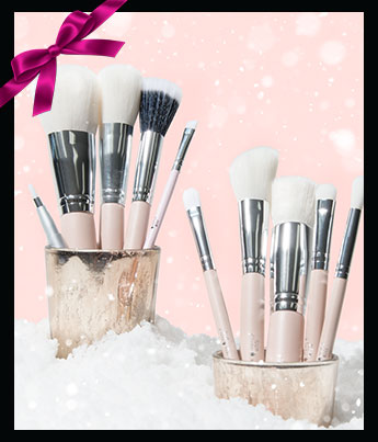 100% Pure Luxe Brush Set