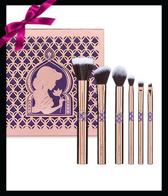 Luxie Beauty Princess Jasmine 6 Piece Brush Set