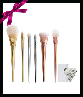 Real Techniques Bold Metals Collection Deluxe Illumination Set