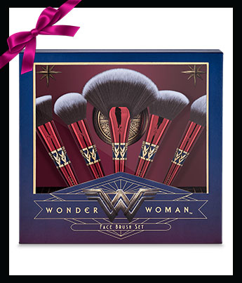 Luxie Beauty Wonder Woman Face Brush Set