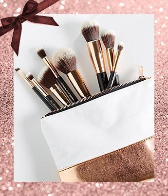 M.O.T.D. Vegan Makeup Brush Set - Ethical Gift Guide