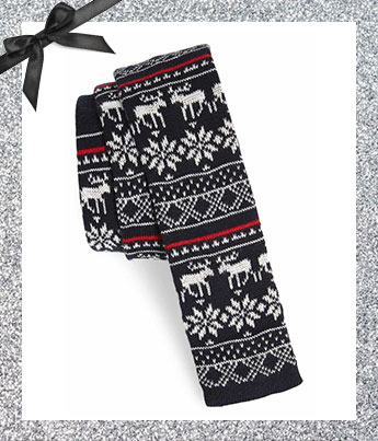 Knit Cotton Slim Tie - Ethical Gift Guide