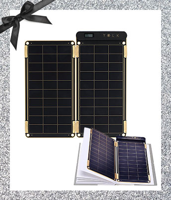 Portable Solar Charger - Ethical Gift Guide
