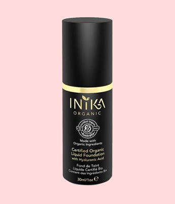 Certified Organic Liquid Foundation - INIKA
