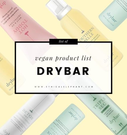 Drybar Vegan Product List