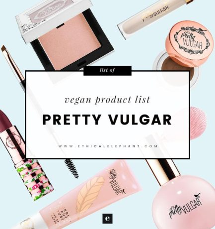 Pretty Vulgar Vegan Product List