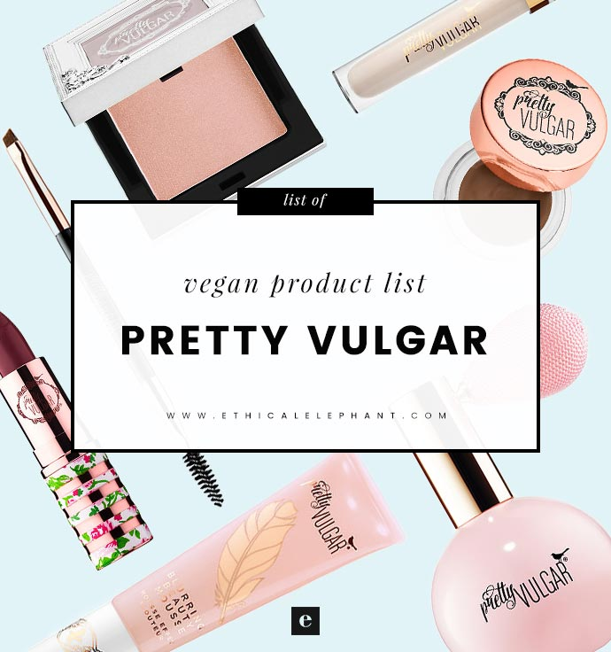 1d3b3e3bccc Pretty Vulgar is a new vintage-inspired makeup brand sold at Sephora. Pretty  Vulgar states on their website's FAQ that their products are cruelty-free  and ...