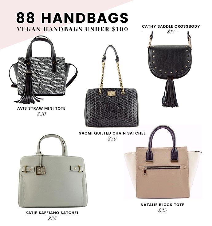Vegan Handbags Under 100