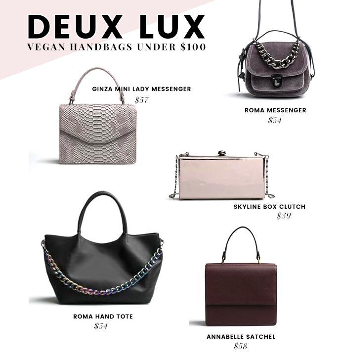 Affordable Vegan Handbags Brands - Under  100 db7adfcac5